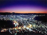 函館の夜景の写真