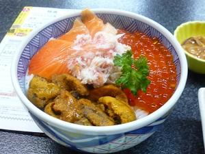 海鮮丼の写真